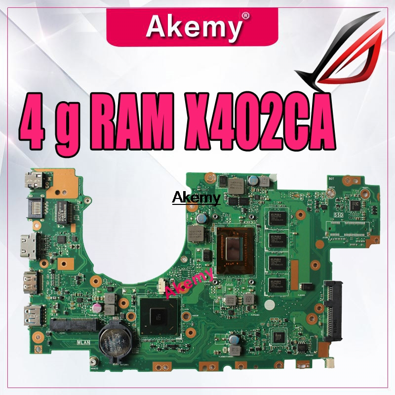 X402CA X502CA Laptop motherboard for ASUS X502C X402C F502C F402C Mainboard for laptop with 4 g RAM 847/987/1007U Tests 100% OKX402CA X502CA Laptop motherboard for ASUS X502C X402C F502C F402C Mainboard for laptop with 4 g RAM 847/987/1007U Tests 100% OK