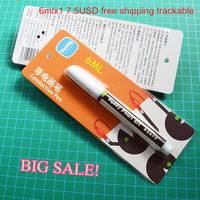 6ml Conductive Ink Pen Gold Electronic Circuit Draw Instantly Magical Pen Circuit DIY Maker Student Kids