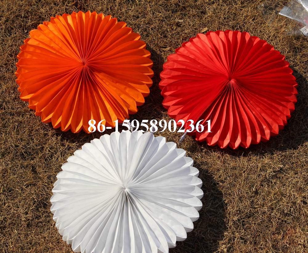 Spr 20pcslot 30 Cm Tissue Paper Fan Wedding Party Paper