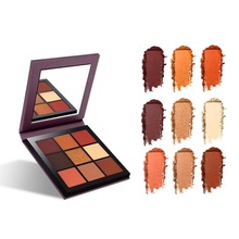 MIAOOL 9Color Makeup Eyeshadow Palette Mirror Make up Highly Pigmented Beauty Women Eye Shadow Maquillage