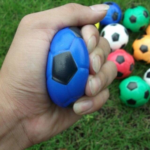 514b323323 Massagem adulto Brinquedos Mão Exercício Futebol Macio Elástico Squuze  Estresse Apaziguador Bola Criança Pequena Bola De