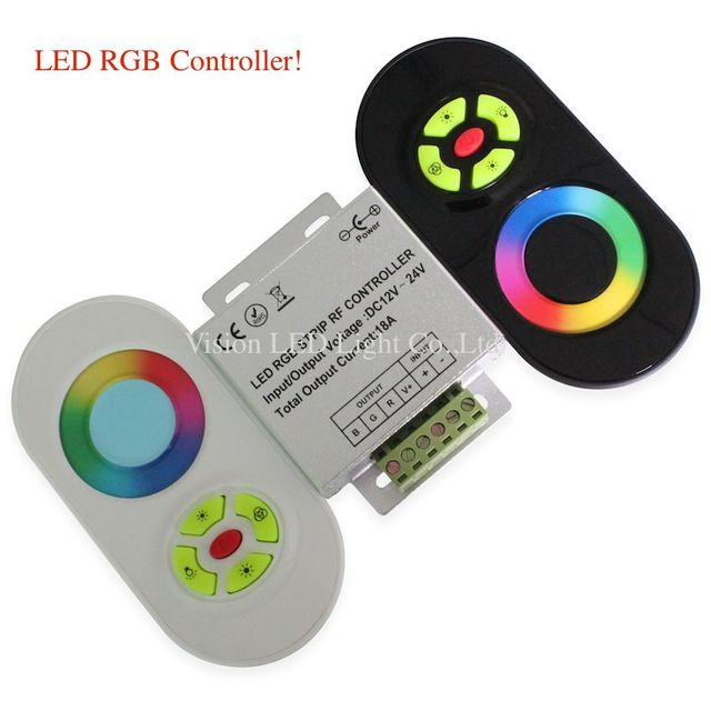 5 set a lot, LED RGB Touch Controller &Dimmer, RF, 12-24V DC