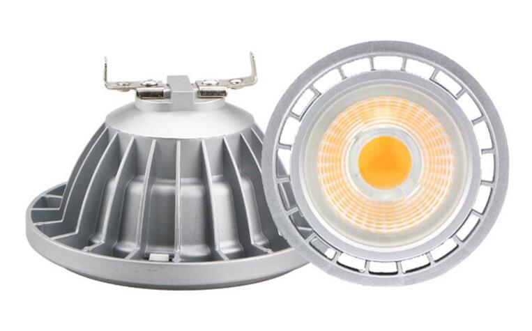 New arrival! 12W COB AR111 G53 GU10 LED BULB Spot Light High CRI 90 DC12V/AC85V-265V AR111 LED Lamp 5 years warranty