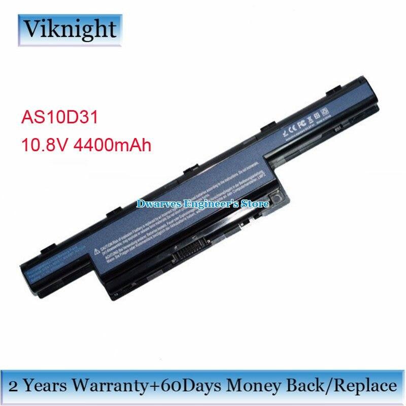 10.8 V 4400 mah AS10D31 AS10D41 AS10D51 Batterie pour ACER Aspire 7741 E1-571G 5742z Acer As4451 AS4551-4315 Travelmate 4740 5740g