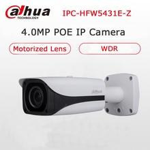 Original Dahua IPC-HFW5431E-Z WDR IR Bullet Camera 4MP Motorized Lens IP67 Waterproof POE IP Camera CCTV without LOGO Upgradable