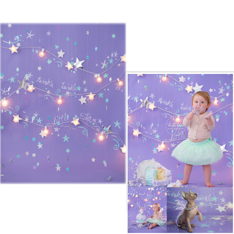 MEHOFOTO Vinyl Photo Backdrops Twinkle litter Star New Fabric Flannel Photography Background For Baby photo studio 6721 retro background christmas photo props photography screen backdrops for children vinyl 7x5ft or 5x3ft christmas033