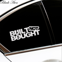 BUILT NOT BOUGHT Funny Car Sticker Decal D077