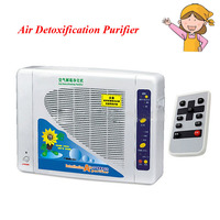 1pc Air Purifier With Negative Ion And Ozone Air Cleaning Filter With English Manual Air Detoxification