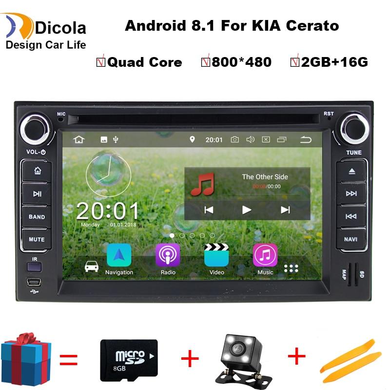 4 ядра Android 8,1 2 DIN 4G LTE модем автомобильный DVD для KIA Sportage 2007 2010 CEED gps навигации автомобиля радио плеер Поддержка TPMS