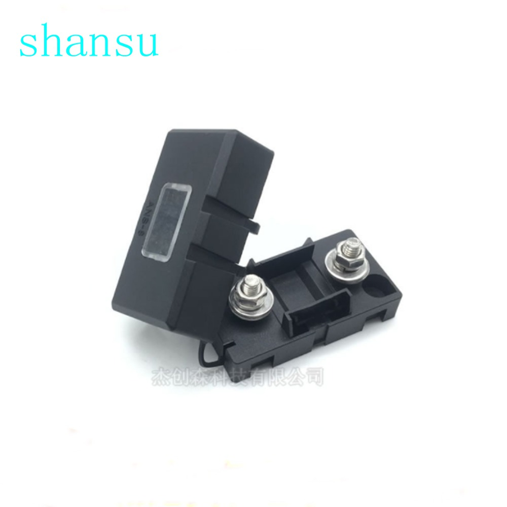 hight resolution of ans 8 trumpet fork plug type the fuse holder 52x27 5mm safety plate base car carrier fuse box bolt type
