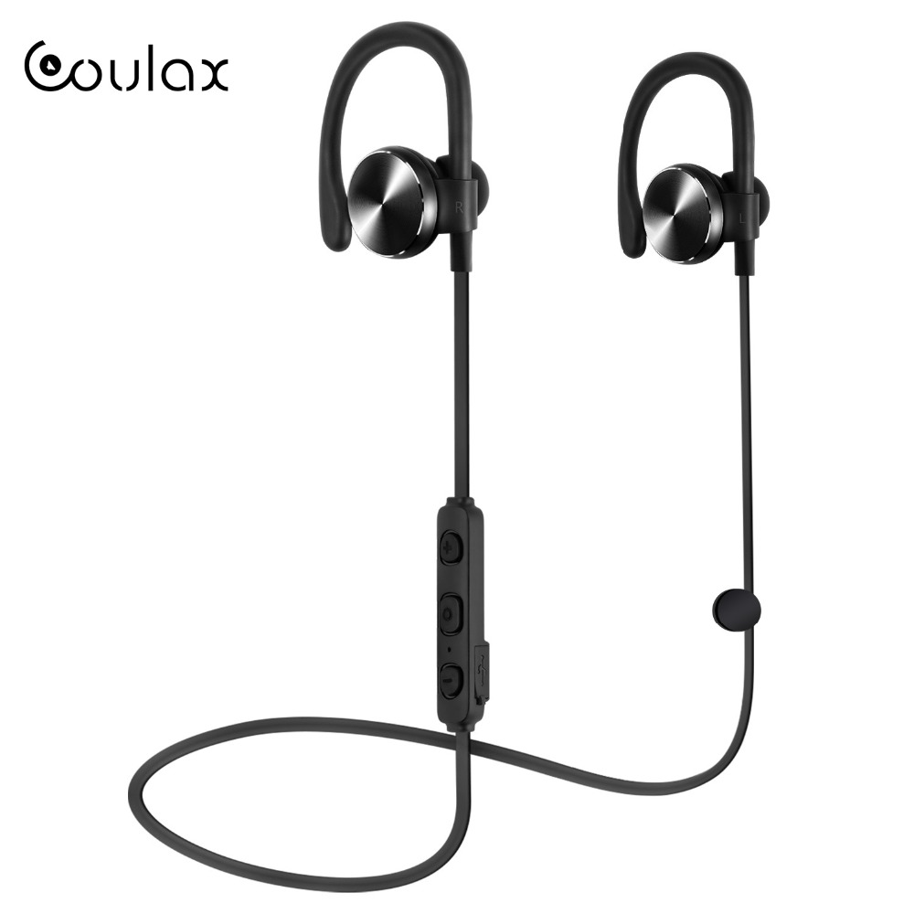 COULAX Bluetooth Headphones Wireless with Microphone V4.1 Wireless Headset  Stereo Bluetooth Earphone for iPhone Android PC CX06 finefun new bee bluetooth headphones bluetooth headset wireless headphones earphone for ios android phone smartphone table pc