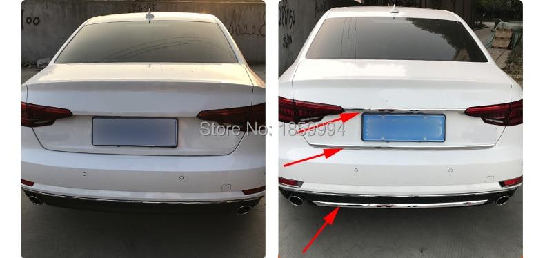 untuk 2017 2018 2019 audi a4 b9 4drs sedan refit rearguards batang - Bahagian auto - Foto 2