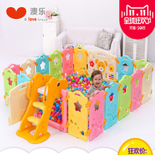 Gas Stove Knob Door Stop Baby Gate High Quality No Smell Star Game Fence Baby Crawling Toddler Security Puzzle Plastic Playpen