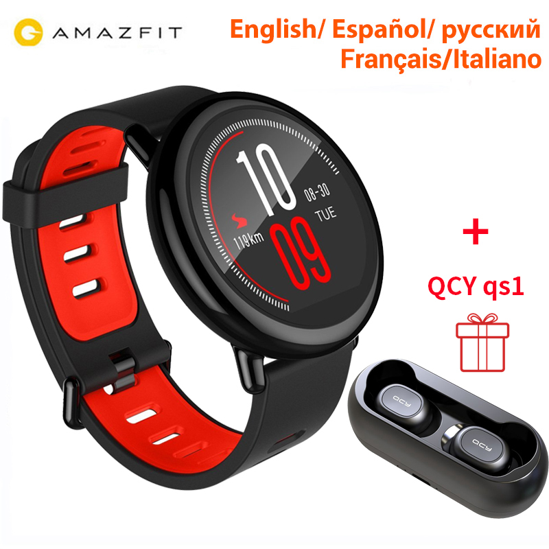 [GLOBAL VERSION]Xiaomi Huami AMAZFIT Pace Smart Watch 4GB GPS Heart Rate Monitor BT4.0 Touch Screen Sports Watch Men[GLOBAL VERSION]Xiaomi Huami AMAZFIT Pace Smart Watch 4GB GPS Heart Rate Monitor BT4.0 Touch Screen Sports Watch Men
