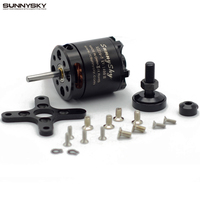Free Shipping SUNNYSKY X2216 KV880 KV1100 KV1250 KV2450 Outrunner Brushless Motor For Multi Rotor Quadcopter 3D
