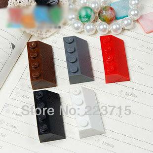 Free Shipping!3037 20pcs *Roof Tile 2X4/45* DIY Enlighten Block Bricks,Compatible With Lego Assembles Particles