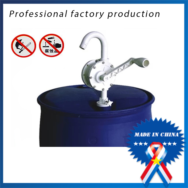 Anti-corrosion Anti-riot Plastic Hand Cranked Oil Drum Pump enhanced PP/PPS Fuel pump