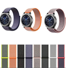 bracelet band for Samsung galaxy watch active 42mm 46mm Gear sport s2 s3 Neo Live zenwatch 2 1 Ticwatch E 1 2 pro nylon strap цена