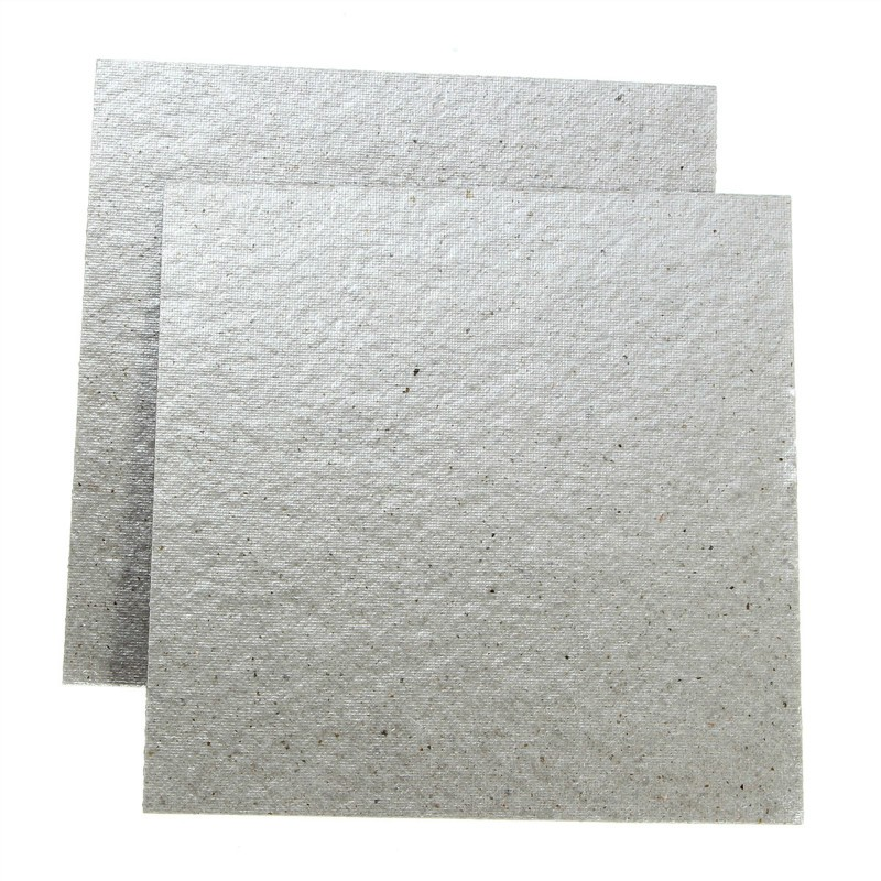 NEW Microwave Oven Accessories Heat Insulation Blocked Oil Board 11 x 11cm Repairing Part Mica Plates Sheets 2 Pcs