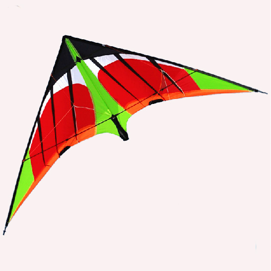 Free Shipping 2015 NEW LISTING 1.8m Power Professional Dual Line Stunt Kite With  Handle And Line Good Flying  Factory Outlet