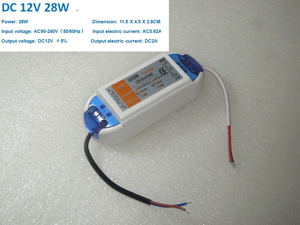 28W Switching Power Supply 2A LED Driver <font><b>Adapter</b></font> 110V 220V AC to DC Lighting Transformers for LED Strip LED Module LED lamps image