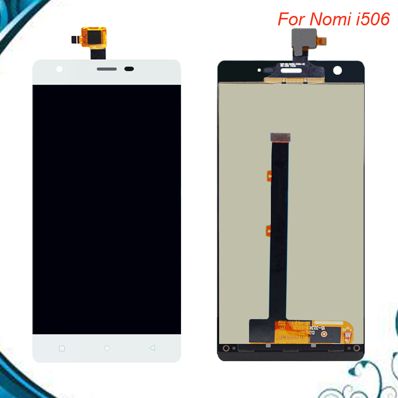 For Nomi i506 LCD Display+Touch Screen 100% Tested LCD+Digitizer Assembly Glass Panel Spare Parts IN STOCK