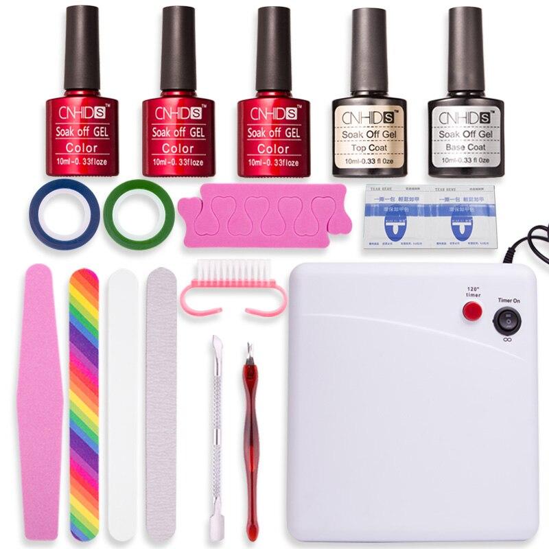 36 W Uv Lamp Dryer Cnhids Gel Polish Set Nail Salon Nail Polish Complete  Set Of Manicure Tools 132 Gelous Advanced Nail Gel Coat Nail Polish Gel  From ...