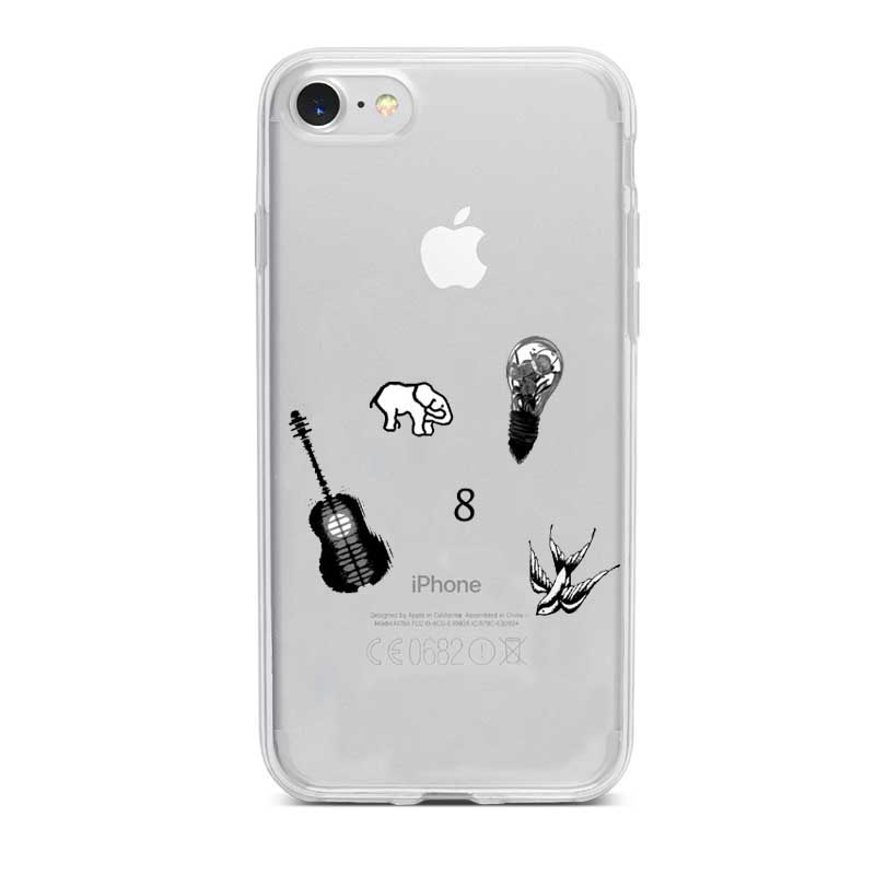 Canada songwriter Mendes Shawn In my blood Magcon capa para Apple iphone 5 6 7 8 Plus X TPU silicone macio tampa da caixa in Half wrapped Cases from Cellphones Telecommunications