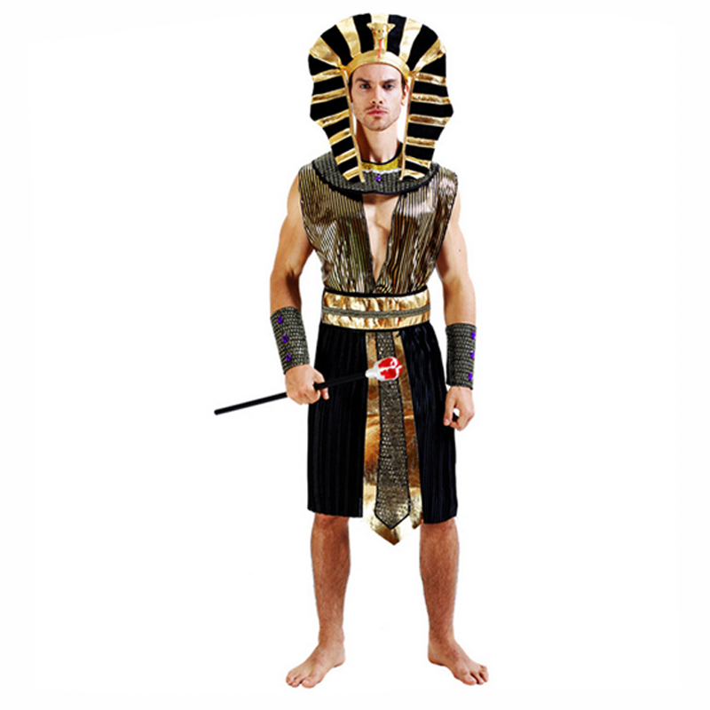 Ancient Egypt Egyptian Pharaoh Cleopatra Prince Princess Costume For ... be9c53126