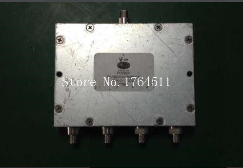 [BELLA] MECA 804-2-1.700V 0.698-2.7GHZ a four frequency microwave divider SMA[BELLA] MECA 804-2-1.700V 0.698-2.7GHZ a four frequency microwave divider SMA