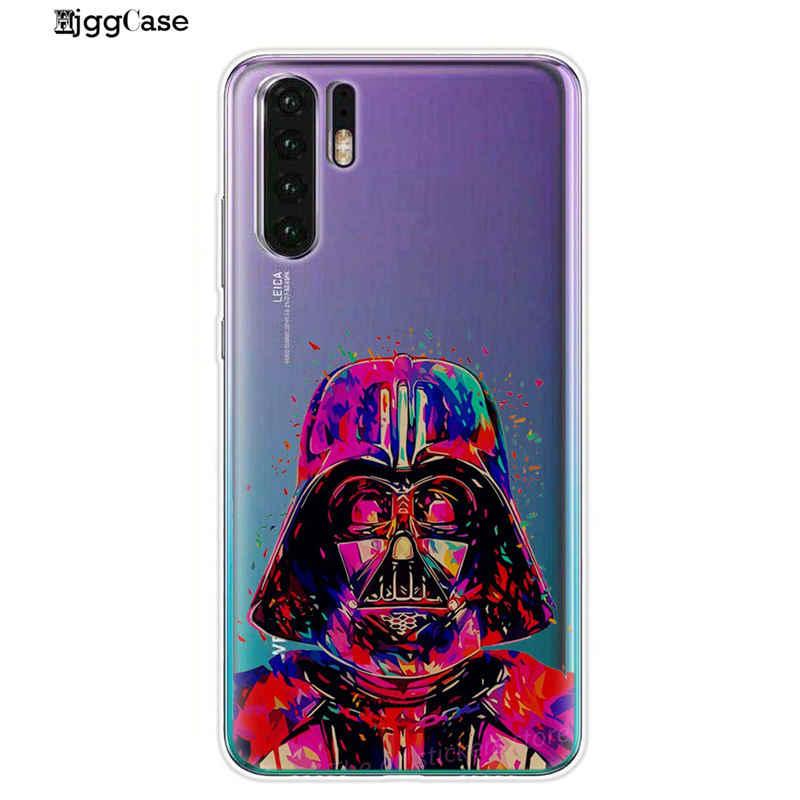 Star Wars Weiche TPU Silikon Abdeckung Klar Telefon Fall Fundas Coque Für Huawei P20 P10 P30 Mate 10 20 Lite pro Ehre 9 10 Lite 8X 8C