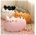 Прекрасные кошачьи подушка мягкая набивной ткани животных подушка рождественский подарок для детей S20
