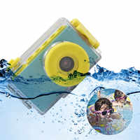 children Mini digital Camera Toys kids Education toy camera digital with waterproof cover DIY stickers Birthday Gift