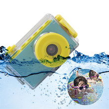 children Mini digital Camera Toys kids Education toy camera with waterproof cover DIY stickers Birthday Gift