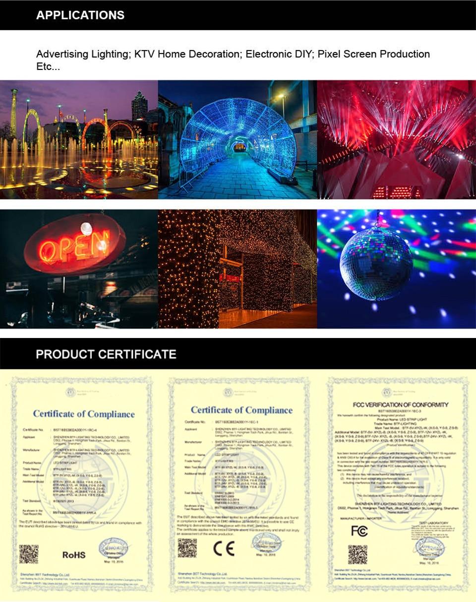 HTB1Gk1LXtfvK1RjSspoq6zfNpXae 1m/2m/4m/5m WS2812B Led Strip 30/60/74/96/100/144 pixels/leds/m WS2812 Smart RGB Led Light Strip Black/White PCB IP30/65/67 DC5V