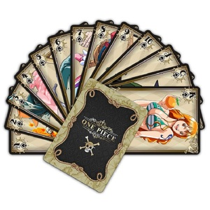 54Pcs/Lot Attack on Titan One Piece Naruto Figure Collection Luffy Poker Card&Chooper Playing Card Color Box Kid Gift Action Toy(China)