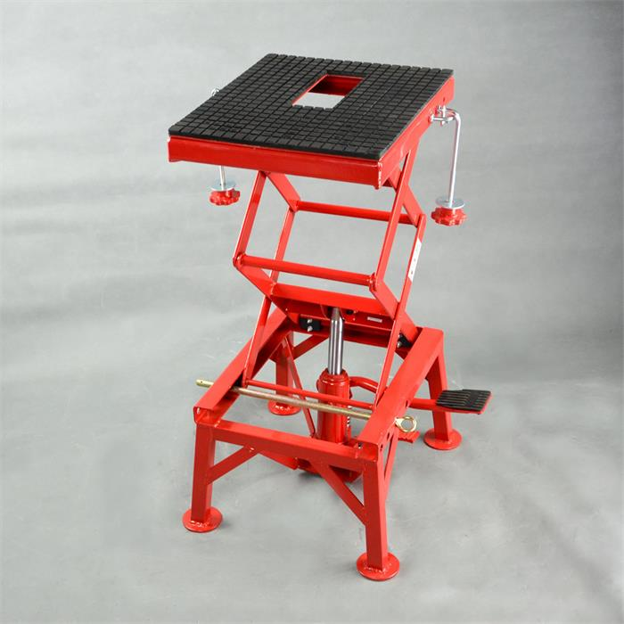 300LBS Motorcycle Repair Lift Table Max Lifting Height 905mm