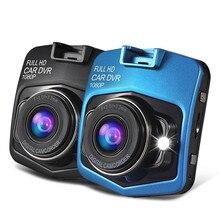 """2.4 """"Мини Видеорегистраторы для автомобилей Full HD 1080 P GT300 регистраторы Autocar камеры записи видео Регистратор черный ящик Ночное Видение G- Датчик dashcam"""