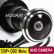 "Mini AHD cámara 170 Grados de Granangular 720 P 1/4 ""CMOS Sensor 720 P AHD/1000TVL Vigilancia de Seguridad sistemas"