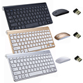 Новая беспроводная Клавиатура 2 4 ГГц и комплект мыши  ультратонкая клавиатура для Android  IOS  ПК  ноутбуков  Mac  настольных ТВ-приставок  офисные ...