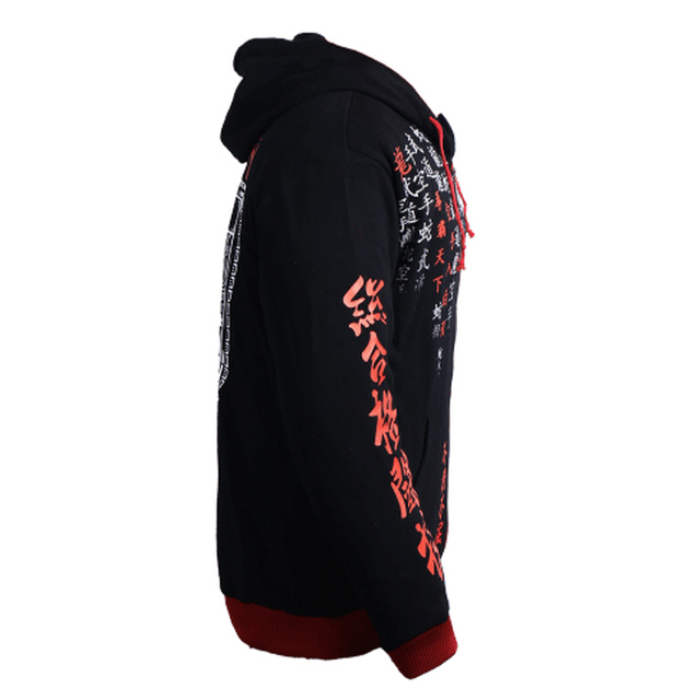MMA tops black Trainning & Exercise Sweaters 061 Hoodie 3