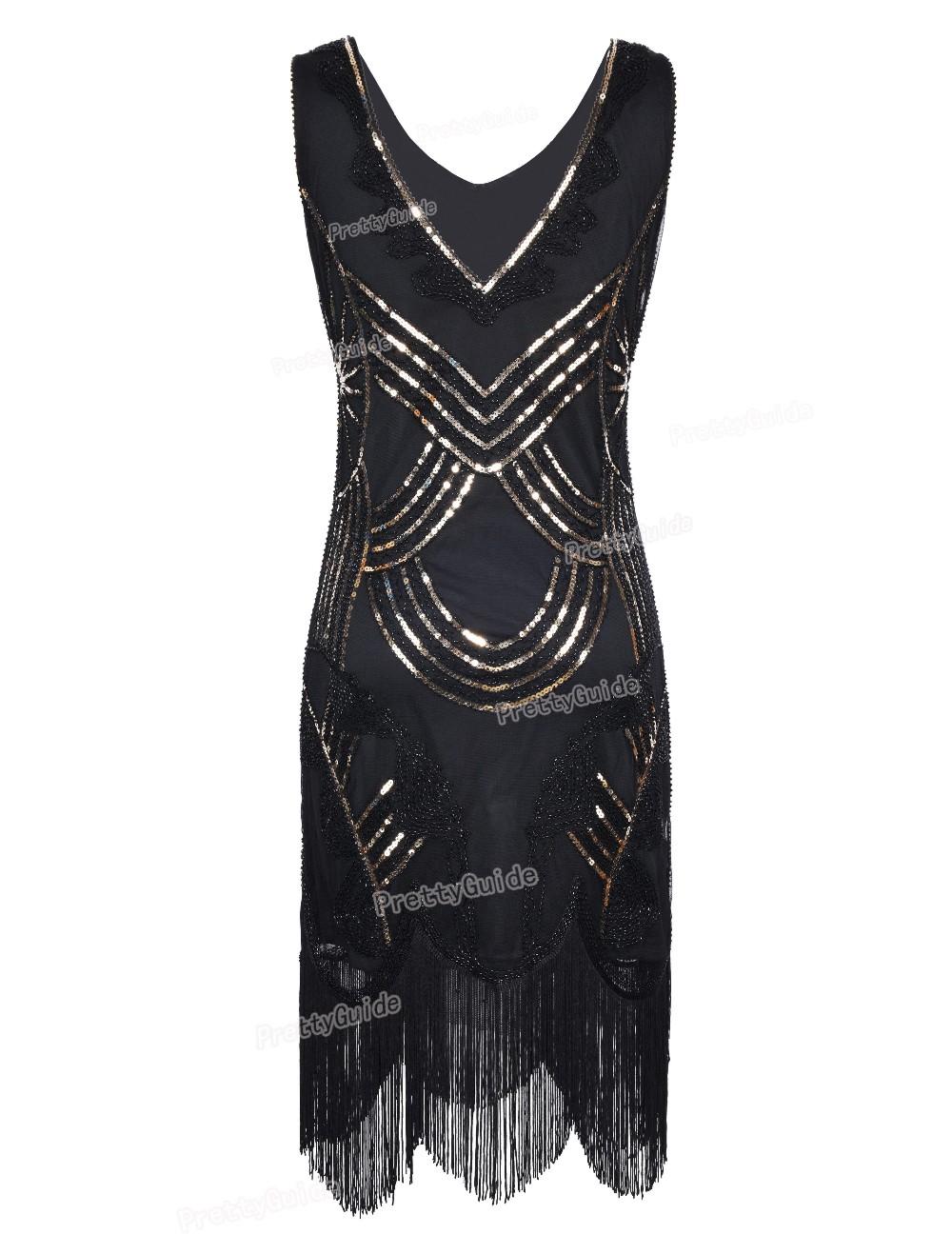0c89ffdb373 PrettyGuide Women s 1920s Vintage Gatsby Art Deco Beads Fringed ...