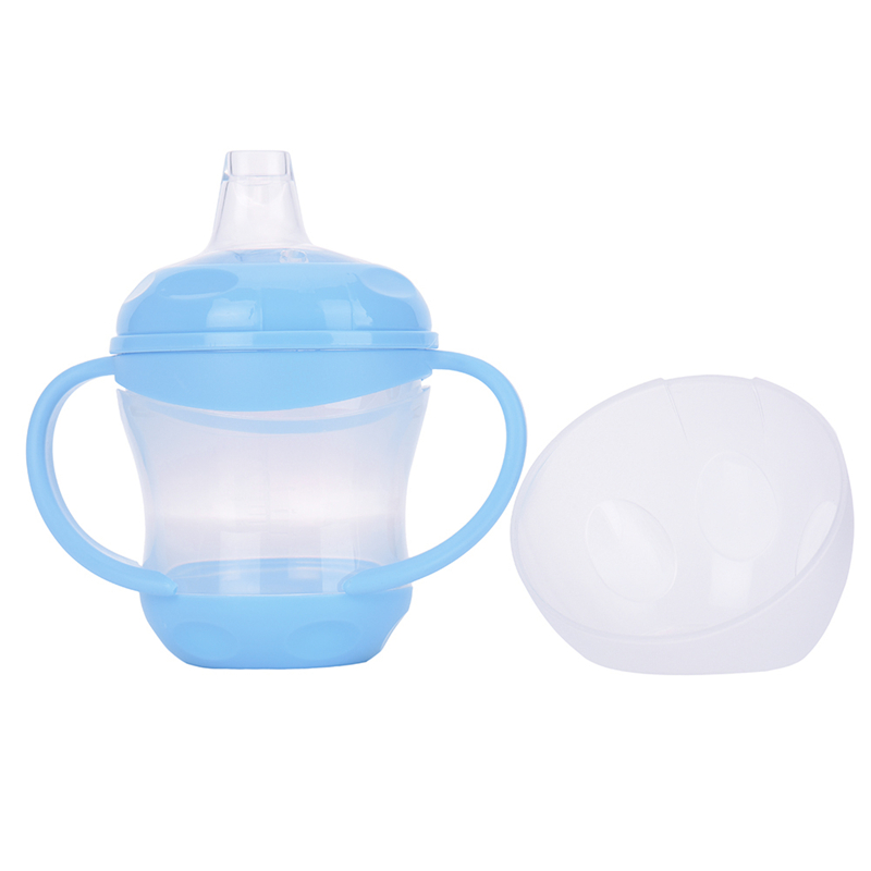 2017 Delicate new newborn baby drink water bottles baby training cups feeding bottle 2 colors hot selling 160ml