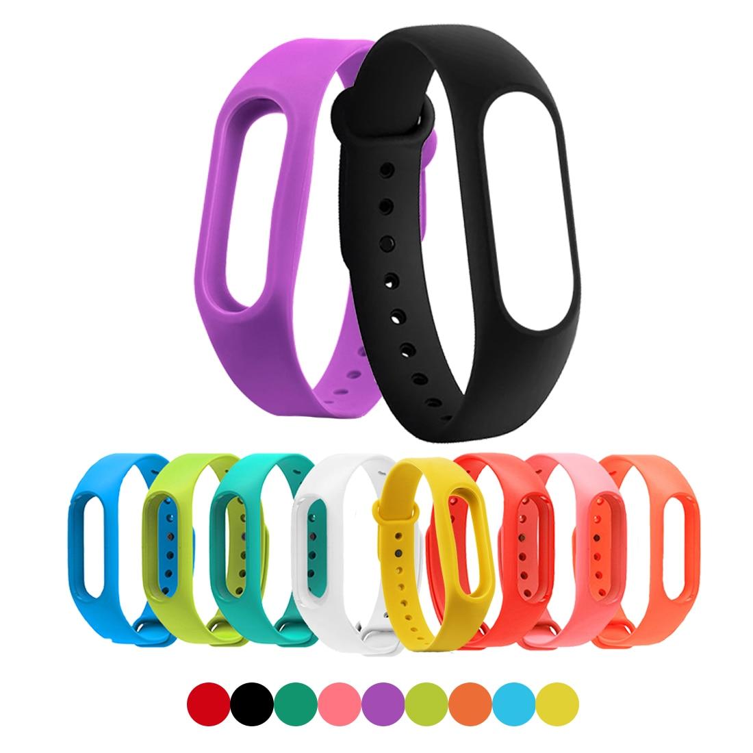 Hot 1 pcs Smart Wristband Band Strap For Xiaomi Mi Band 2 Smart Bracelet Miband 2