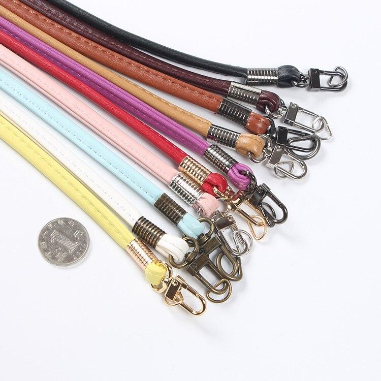 Fashion New Women Girls 120 Cm PU Leather Shoulder Bag Strap Bucket Bags Cross Body Bag Strap Belt Detachable Accessories KZ1029