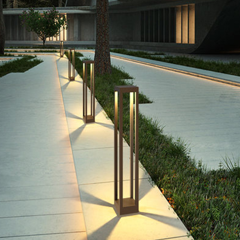 INJUICY Modern Lawn Villa Light Acrylic Garden Courtyard Waterproof Park Light Grass Outdoor Landscape Light|Outdoor Landscape Lighting| |  -