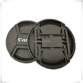 New 82mm Lens Cap Cover With Logo For Canon 5DS 5D3 5DIII 5D2 5DII 7D2 7DII 6D 24-70 16-35 With Anti-lost Rope image