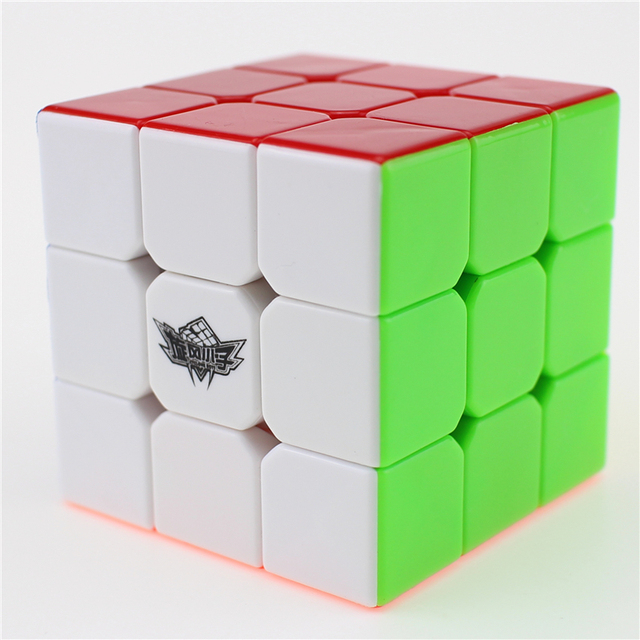 3x3x3 Cyclone Boys Magic Cube Puzzle Cubes Speed Cubo Square Puzzle No Sticker Rainbow Gifts Educational Toys for Children