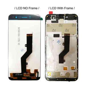 "Image 3 - ZTE 블레이드 A520 용 프레임이있는 5.0 ""LCD ZTE A520 A 520 디스플레이 용 전체 LCD 디스플레이 터치 센서 스크린 디지타이저 센서 어셈블리"