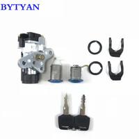 BYTYAN Motorcycle Accessories Ignition Switch Lock Key FOR HONDA DIO ZX AF34/AF35/AF38 The New Ignition lock